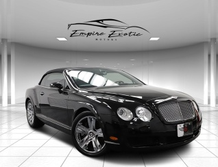 2008 Bentley Continental Gt W12 Convertible For In Addison Tx