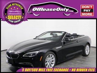 Used 2017 BMW 6 Series 640i Convertible For Sale In Orlando FL