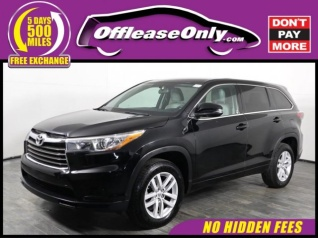 2015 Toyota Highlander For Sale >> Used Toyota Highlander For Sale In Seffner Fl 203 Used Highlander