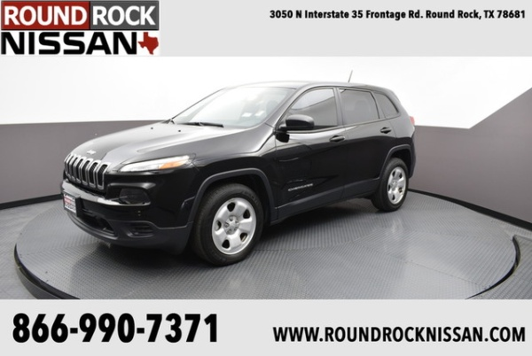 2017 Jeep Cherokee in Round Rock, TX