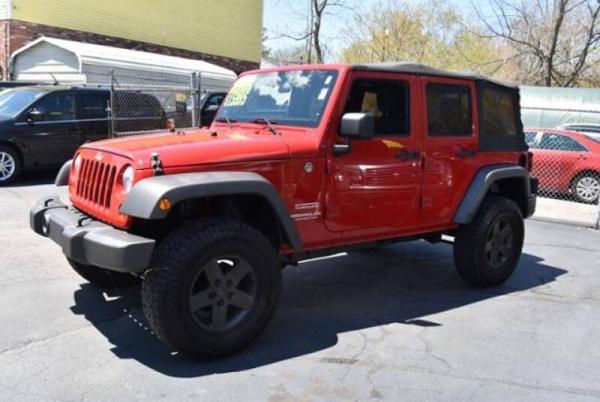 2011 Jeep Wrangler in Brockton, MA