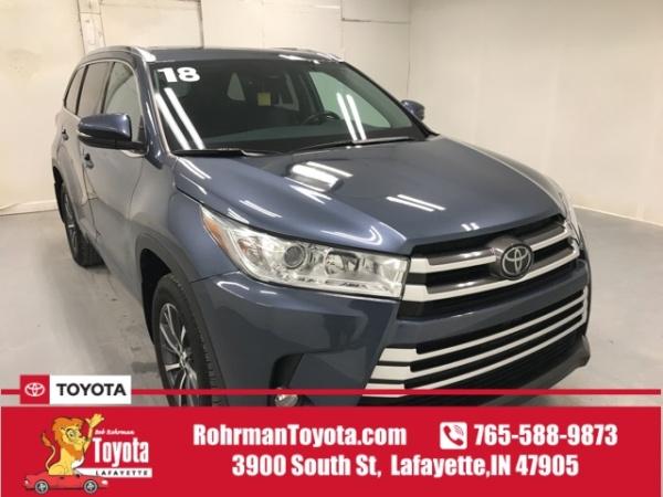 2018 Toyota Highlander in Lafayette, IN