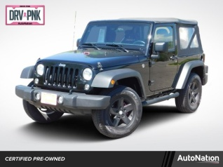 Jeep Wrangler Sport For Sale >> Used Jeep Wranglers For Sale Truecar