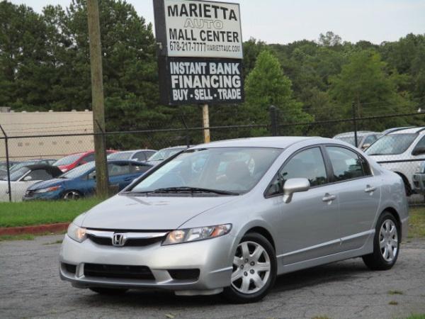 2010 Honda Civic Sedan 4dr Auto LX $8,495 Marietta, GA