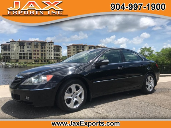 2008 acura rl with technology package for sale in jacksonville fl truecar. Black Bedroom Furniture Sets. Home Design Ideas