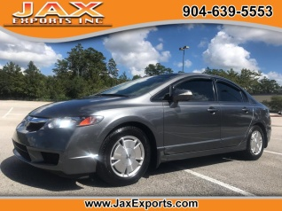 Used 2010 Honda Civic Hybrid Sedan I4 CVT For Sale In Jacksonville, FL