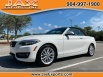 2016 BMW 2 Series 228i Convertible RWD for Sale in Jacksonville, FL
