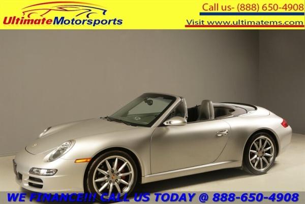 2008 Porsche 911 Carrera S Cabriolet For Sale in Houston, TX