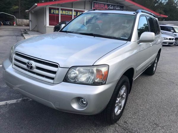2007 Toyota Highlander Limited With 3rd Row V6 4wd