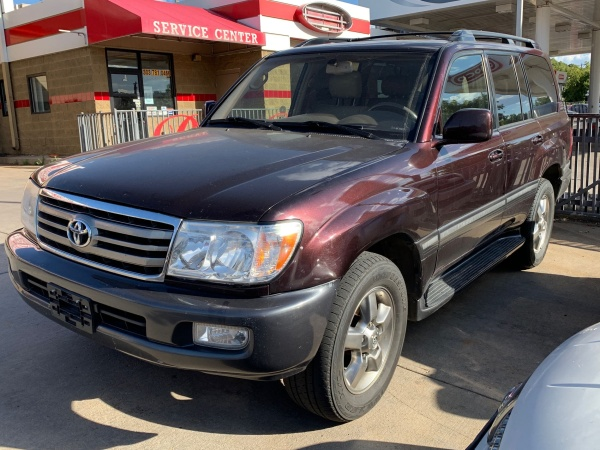 2007 Toyota Land Cruiser Base