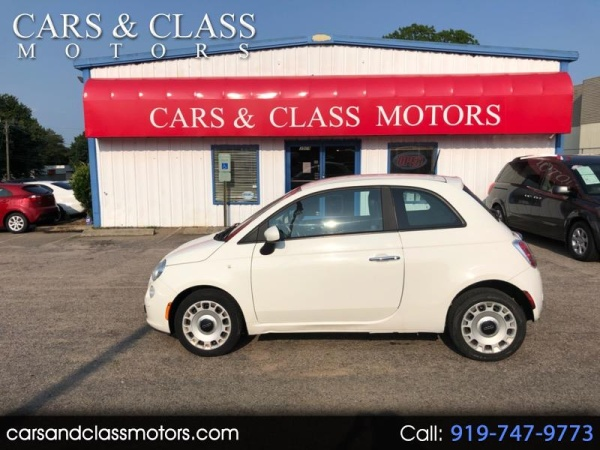 2012 Fiat 500 Pop Hatch For Sale In Raleigh Nc Truecar
