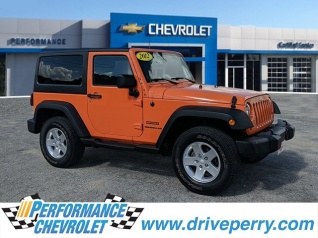 Used 2012 Jeep Wrangler Sport 4WD For Sale In Elizabeth City, NC
