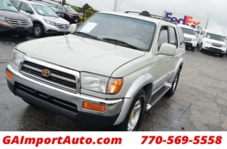 Used 1997 Toyota 4Runner Limited V6 Automatic For Sale In Alpharetta, GA