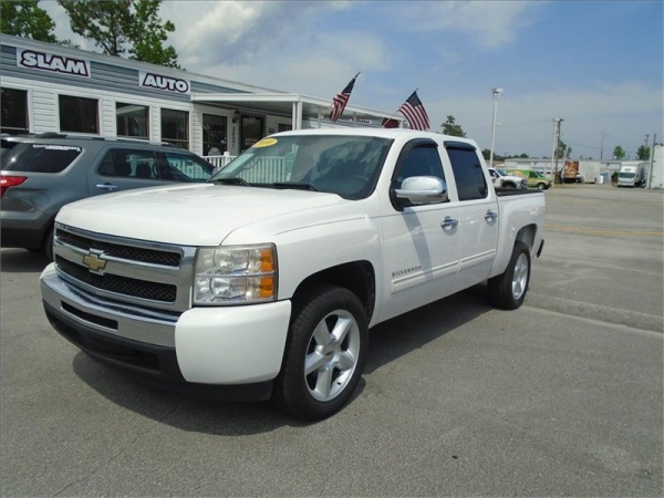 2010 Chevrolet Silverado 1500 Lt Crew Cab Short Box 2wd For
