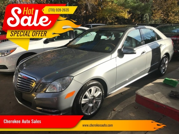 2013 Mercedes-Benz E-Class in Acworth, GA
