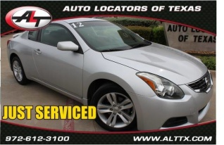 Used 2012 Nissan Altima 2.5 S Coupe CVT For Sale In Plano, TX