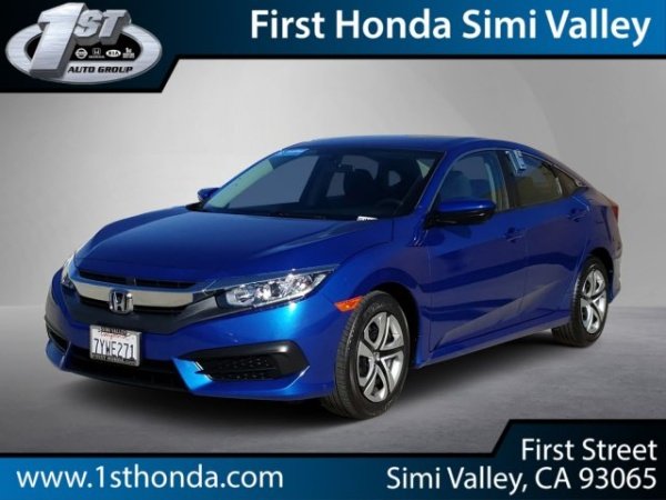 2017 Honda Civic in Simi Valley, CA