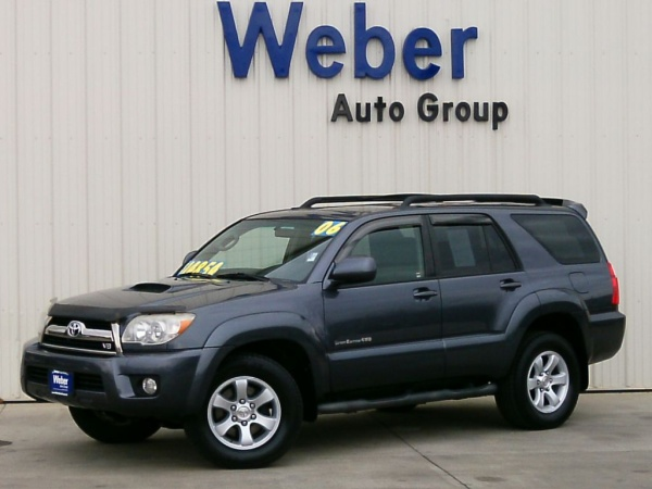 2006 Toyota 4runner Sr5 V8 4wd Automatic For Sale In Silvis Il