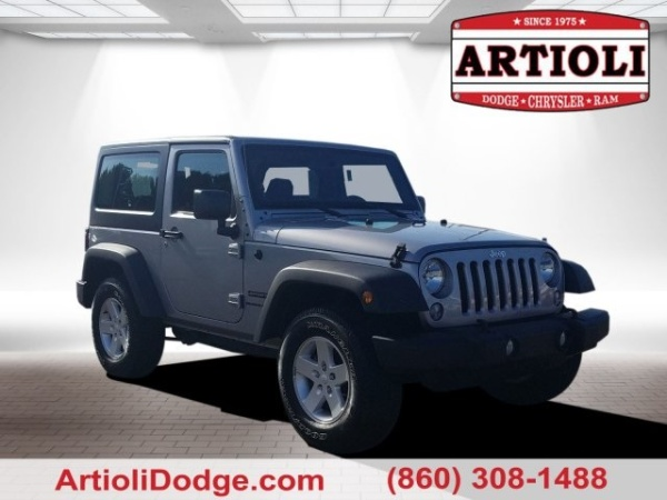 2018 Jeep Wrangler in Enfield, CT