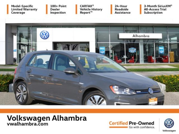 2016 Volkswagen e-Golf in Alhambra, CA