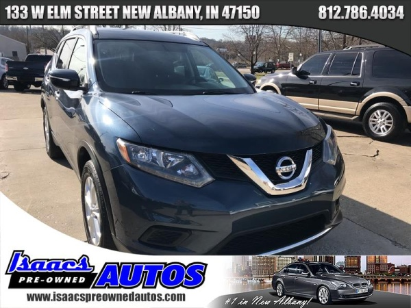 2015 Nissan Rogue Sv Fwd For Sale In New Albany In Truecar