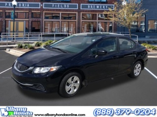 Used 2014 Honda Civic LX Sedan CVT For Sale In Albany, GA