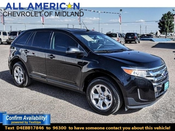 used ford edge for sale in midland tx u s news world report. Black Bedroom Furniture Sets. Home Design Ideas