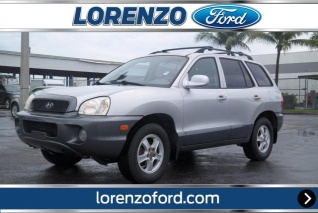 Used 2002 Hyundai Santa Fes For Sale Truecar
