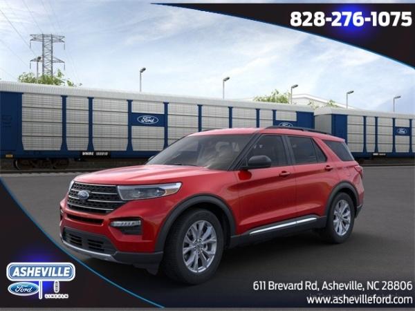 2020 Ford Explorer in Asheville, NC