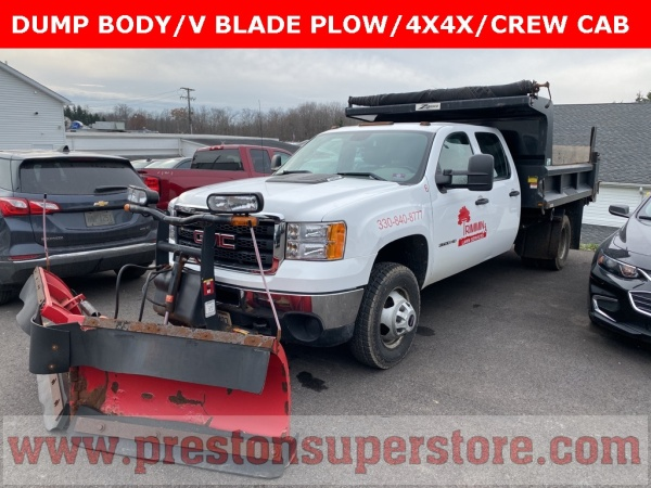 2011 GMC Sierra 3500HD CC Work Truck