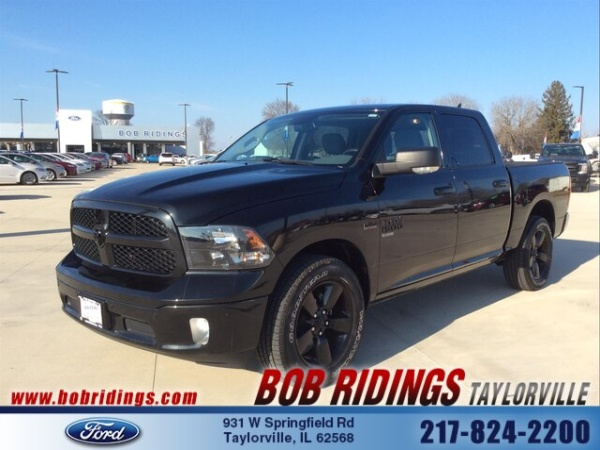 Bob Ridings Taylorville >> 2019 Ram 1500 Classic Big Horn Crew Cab 5 7 Box 4wd For