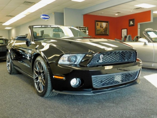 2011 Ford Mustang Shelby Gt500 Convertible For Sale In Burlington