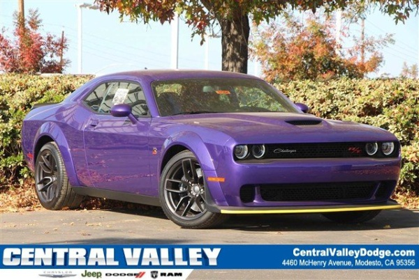 Central Valley Dodge >> 2019 Dodge Challenger R T Scat Pack Wb For Sale In Modesto