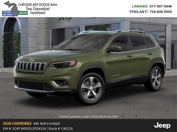 2020 Jeep Cherokee in Lansing, MI