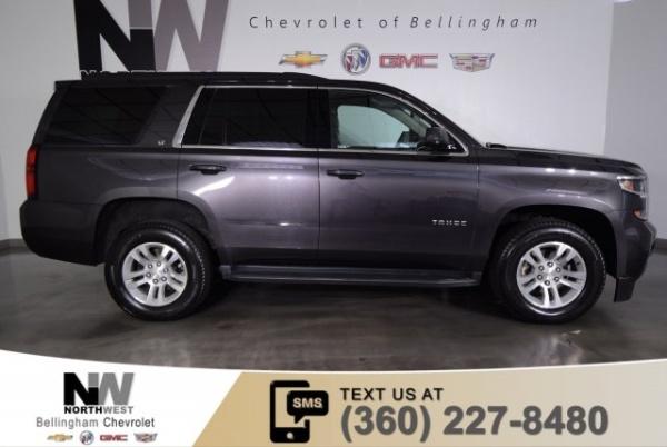 2018 Chevrolet Tahoe Lt 4wd For Sale In Bellingham Wa Truecar