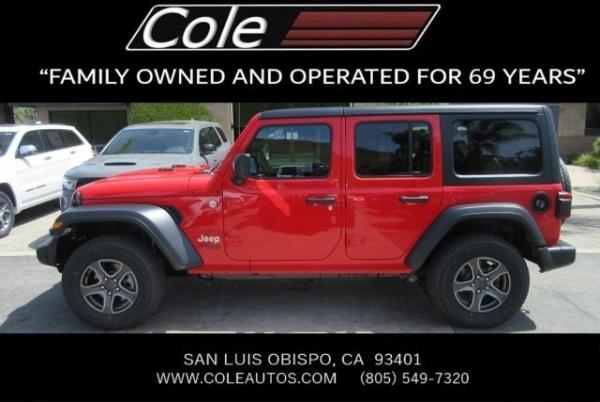 2019 Jeep Wrangler In San Luis Obispo Ca