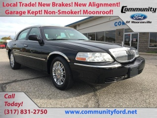 Used Lincoln Town Car For Sale In Goldsmith In 4 Used Town Car