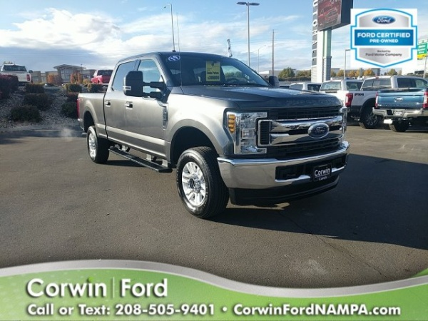 Corwin Ford Nampa >> 2019 Ford Super Duty F 250 Xlt 4wd Crew Cab 6 75 Box For