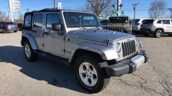 2015 Jeep Wrangler in Danbury, CT