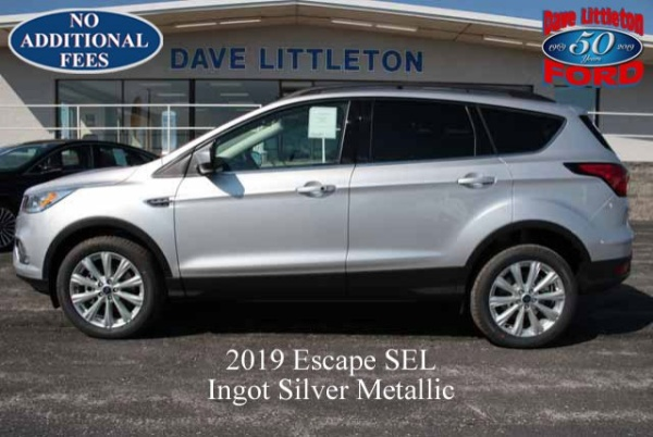 Dave Littleton Ford >> 2019 Ford Escape Sel Awd For Sale In Smithville Mo Truecar