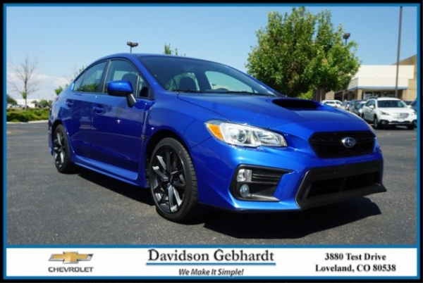 2019 Subaru WRX in Loveland, CO