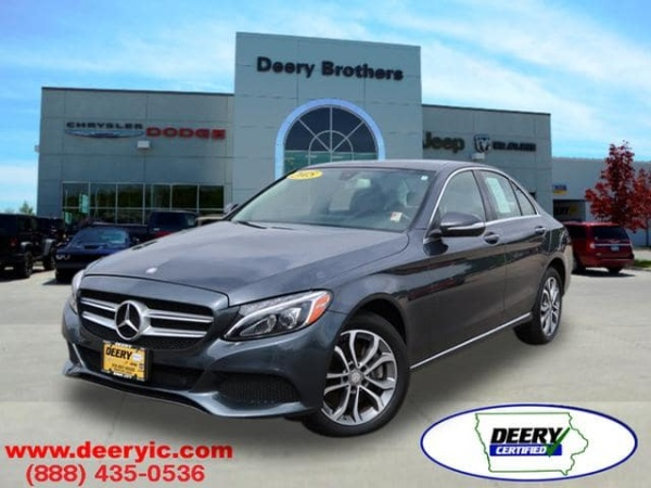 2015 Mercedes-Benz C-Class in Iowa City, IA