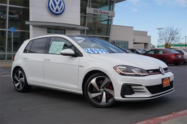 Elk Grove Volkswagen >> 2018 Volkswagen Golf Gti 2 0t Se Dsg For Sale In Elk Grove