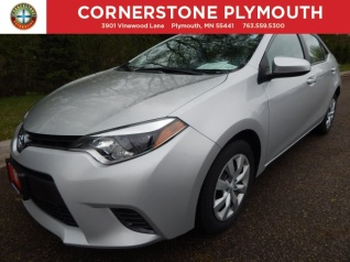 Used 2016 Toyota Corolla L Automatic For In Elk River Mn