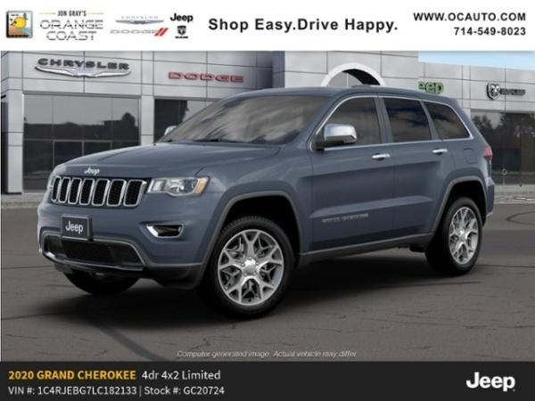 2020 Jeep Grand Cherokee in Costa Mesa, CA