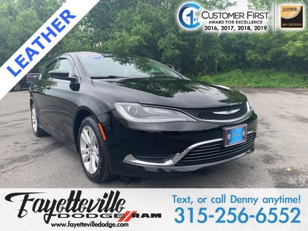 2017 Chrysler 200 in Fayetteville, NY
