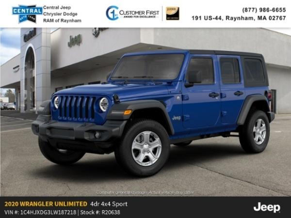 2020 Jeep Wrangler in Raynham, MA