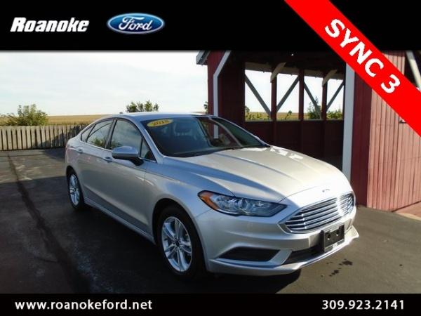 2018 Ford Fusion in Roanoke, IL