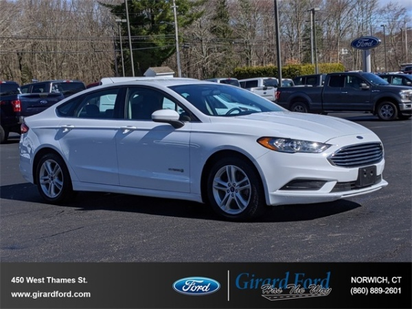 2018 Ford Fusion in Norwich, CT