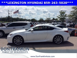 Used 2015 Lexus RC RC 350 RWD For Sale In Lexington, KY